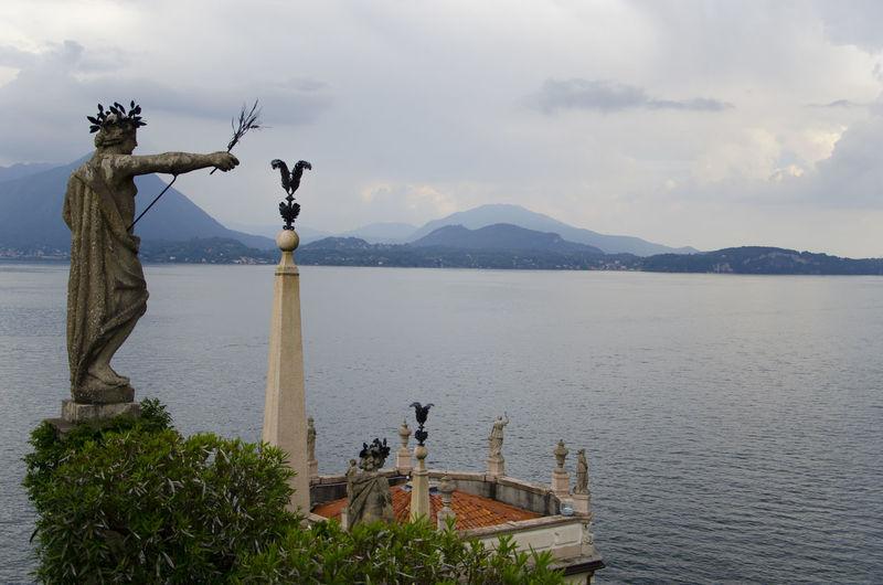 Architecture Art Island Isola Isola Bella Lago Lago Maggiore Lago Maggiore, Italy Lake Statua Statue Travel Travel Destinations Viaggiare The Architect - 2017 EyeEm Awards