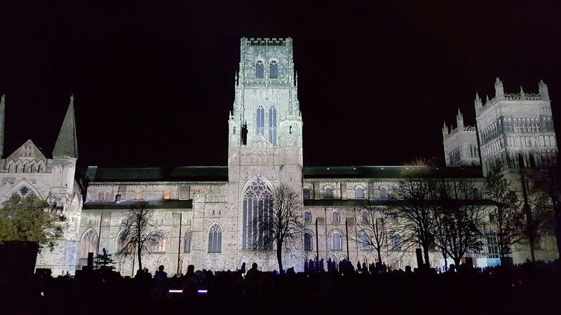 Durham Cathedral Lumiere 2015 County Durham Durham Cathedral Night PhotographyDurham City Durham Lumiere 2015 Mobile Photography