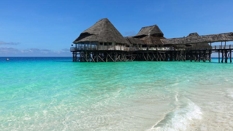 Indian Ocean Sansibar Strand Urlaub Zanzibar Beach Indischer Ozean Sea Turquoise Turquoise Water Türkises Wasser Vacation Water