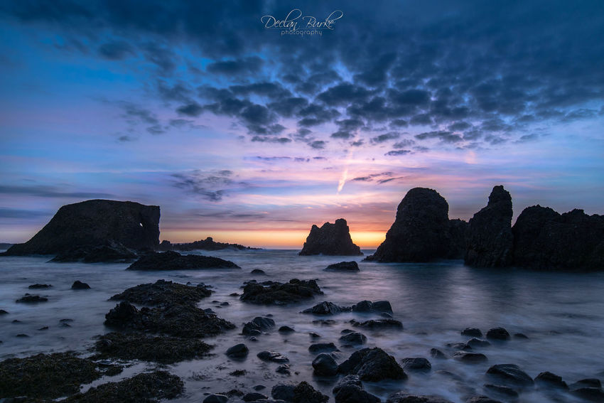 Elephant Rock at Ballintoy on the Antrim coast in northern Ireland