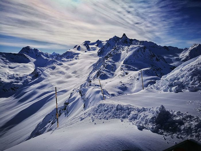 Ski in alps