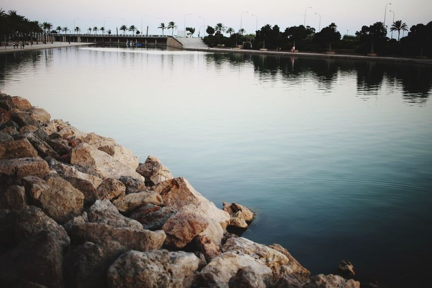 EyeEm Selects Water Reflection Rock Lake Solid Rock - Object