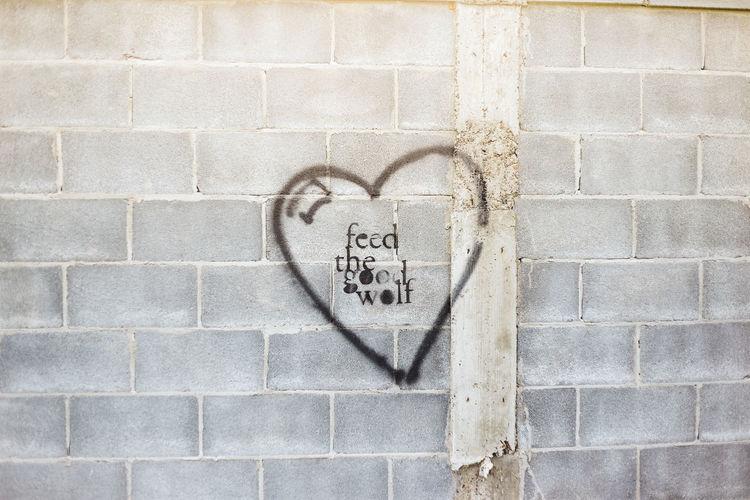Graffiti on a