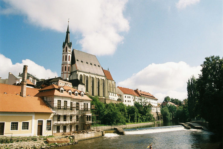 Český Krumlov Cathedral Architecture Building Oldtown Outdoors River Český Krumlov