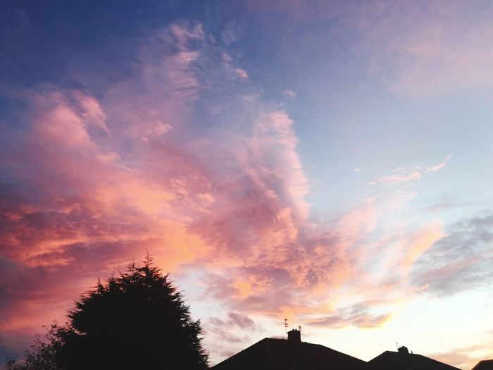 Winter Sky Sunset #sun #clouds #skylovers #sky #nature #beautifulinnature #naturalbeauty #photography #landscape