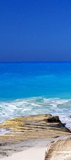 north coast , Alexandria, Egypt Sea Beach Blue Sand Travel Destinations Horizon Over Water Wave