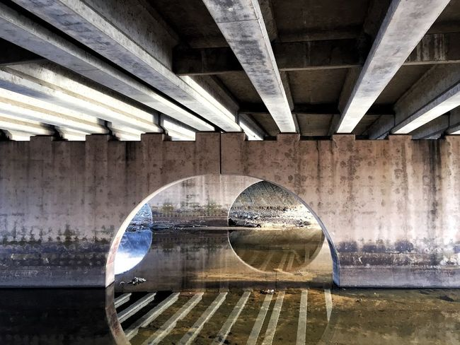 Circles and Lines Arkansas River Circles Grey Shades Of Grey Shapes , Lines , Forms & Composition Shapes And Forms The Architect - 2017 EyeEm Awards Under Bridge EyeEmNewHere EyeEmNewHere