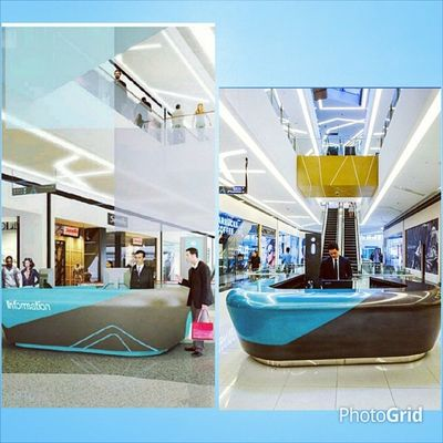 Which one is the perspective? Which one is actual? Centurycitymall Conceirge
