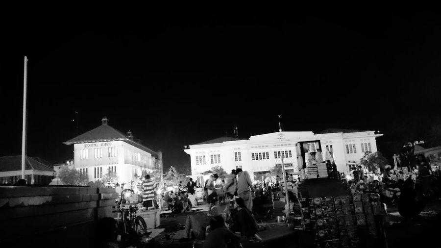 Oldtown In Djakarta Building Nightphotography Sony Xperia Z1