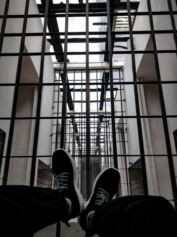Never lock a beast in a cage Personal Perspective Indoors  Shoe Standing Only Men Architecture Photography Photoshoot Inspirational