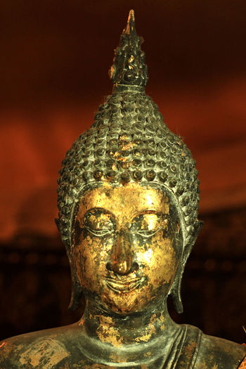 Zen for the soul Gold Colored Buddha Religion Cultures Close-up Eyeemphotography ASIA Fotografia Fotografi Photographer Streetphotography Stockphotography Image Spiritual