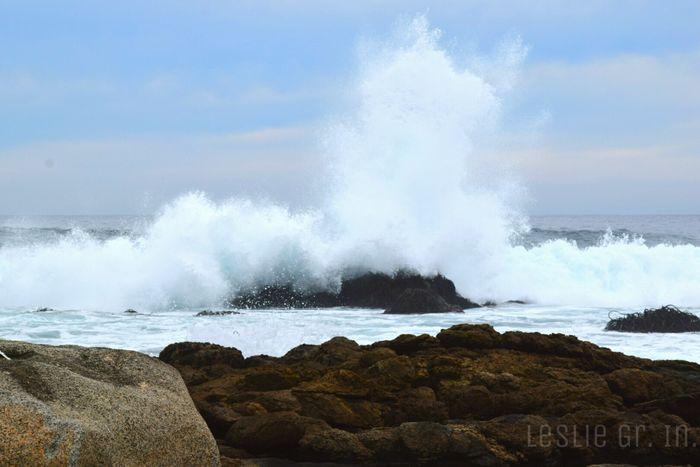 Rocas Playa Elquisco Mar Naturaleza Leslie_Gr_In Agua Beach Water