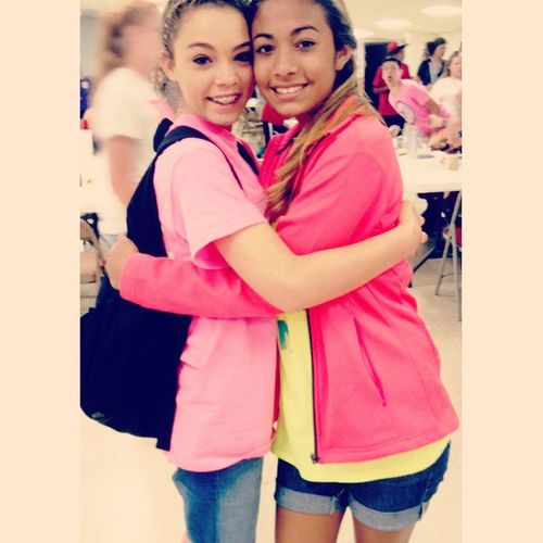 ☀Made a truly amazing friend this week! Miss you already!❤ YouthCamp 2015  Purple TeamR