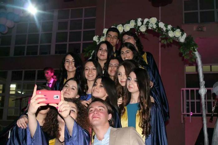 Mezuniyet Töreni Graduation Happy Good Friends