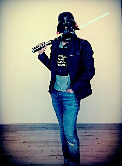Casual Friday. Today's Hot LookDarth Vader Starwars Star Wars Faces Of EyeEmTheempirestrikesback Lord Vader Selfportrait Self Portrait Today's Outfit
