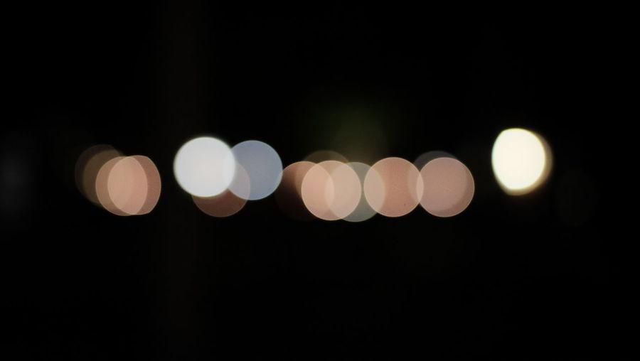 Black Background Bokeh Background Bokeh Lights Bokhe Circle Dark Geometric Shape Lens Flare Light Light - Natural Phenomenon Night No People