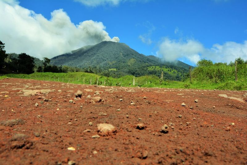 Volcano Costa Rica Outdoors Landscape Beauty In Nature