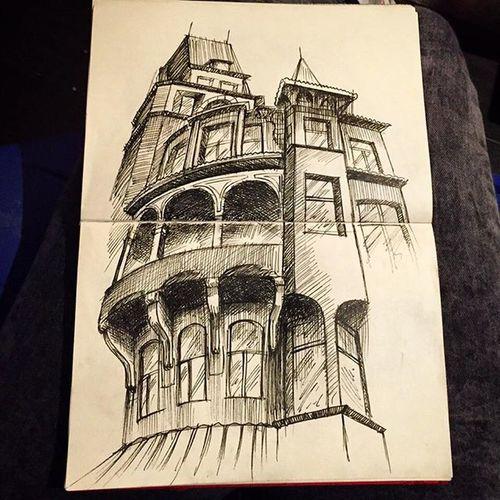 Sketchbook Sketchbook Sketching Drawing Artliner Rapido Architecture Arqsketch Doodle Moleskine Sketchoftheday  Work Illustrationq