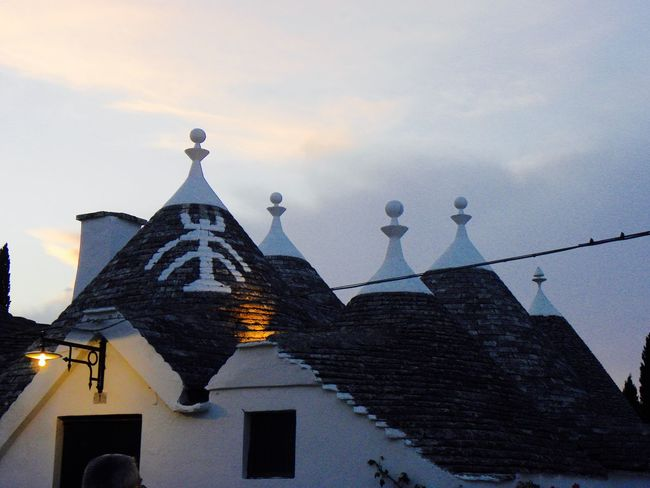 Alberobello Alberobello - Puglia Alberobello City Alberobellocity Alberobelloexperience Alberobellophotocontest Architecture Building Exterior Built Structure Day Low Angle View Nature No People Outdoors Place Of Worship Religion Roof Sky Spirituality