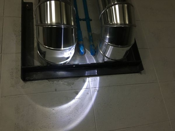 Chilled Domestic Kitchen Domestic Room Indoors  Kitchen Metal High Angle View Stove Food And Drink Gas Stove Burner No People Hygiene Domestic Life Close-up Day Mechanical Piping Work Piping Cover Jacket Aluminum