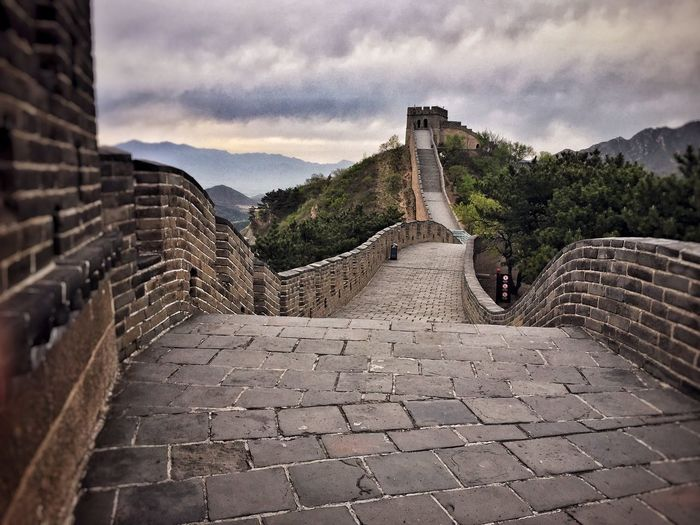 History Architecture Cloud - Sky Built Structure Travel Destinations Ancient Sky Old Ruin The Past Ancient Civilization Building Exterior Tourism Travel Outdoors Castle Steps Day Archaeology No People Fort Great Wall Of China Badaling