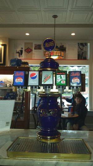 Flashback Soda Fountain Pepsi