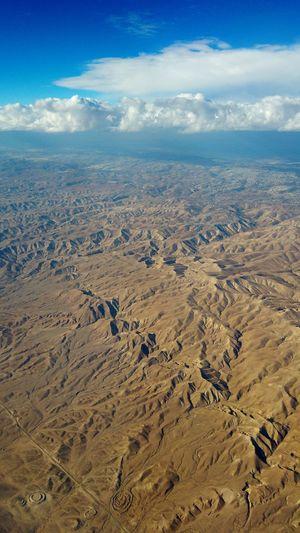 Judean Desert Judea Desert Aerial View Sky Landscape Cloud - Sky Rugged