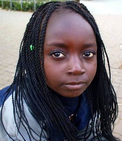 Looking At Camera Eyes Never Lie Eyes Watching You Eyes Are Soul Reflection Portrait Headshot Black Hair Long Hair Young Women People And Places. Eyes Multi Colored Human Face Human Eye Person Innocence Childhood Children's Portraits Children Smiling African Child African People South Africa Africans