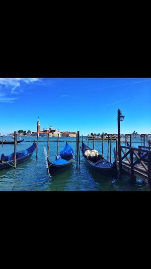 Venice, Italy Canal Gondola
