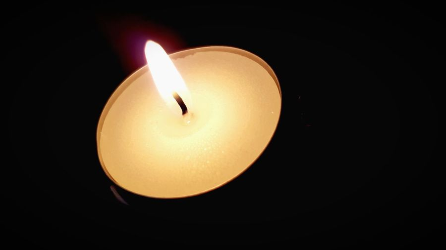 Flame Burning Candle Candlelight Heat - Temperature Close-up Black Background No People Indoors  Illuminated Tea Light Day St Martin's Church Spirituality Religion Place Of Worship