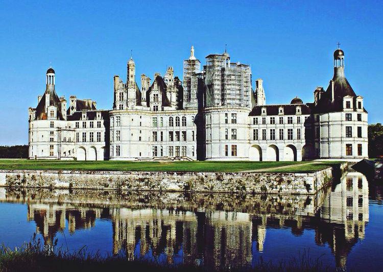France, architecture, chateau de Chambord