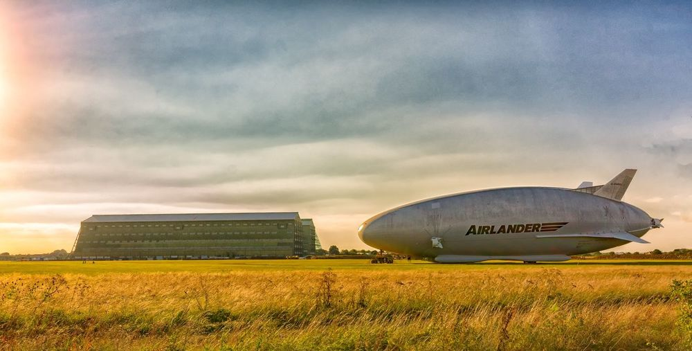 Airlander at cardington hangers. Cardington Airlander10 Baloon Shortstown Check This Out Taking Photos Enjoying Life Hanger Fine Art Photography Summer Outdoors Flight Airship Nikon Sunset Lightroom Photoshop Bestoftheday