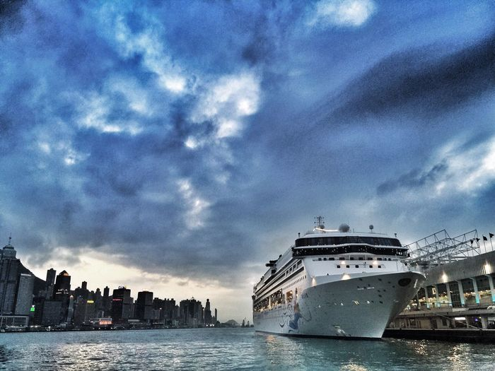 Hello World OpenEdit Check This Out Hong Kong Nightphotography Ship