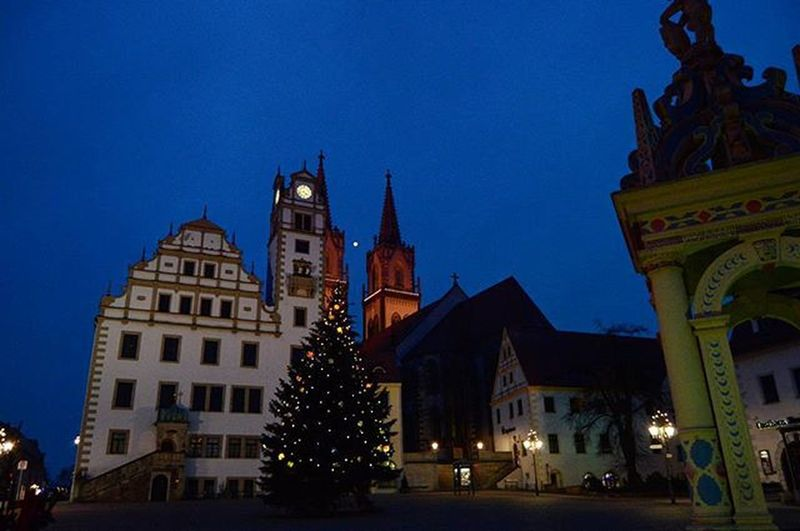Маленький гостеприимный Ошац Kirche Church Rathaus Platz Oschaz Sachsen Travel Travel_2_germany Latergram Ferien Holidays Deutschland Germany Europe