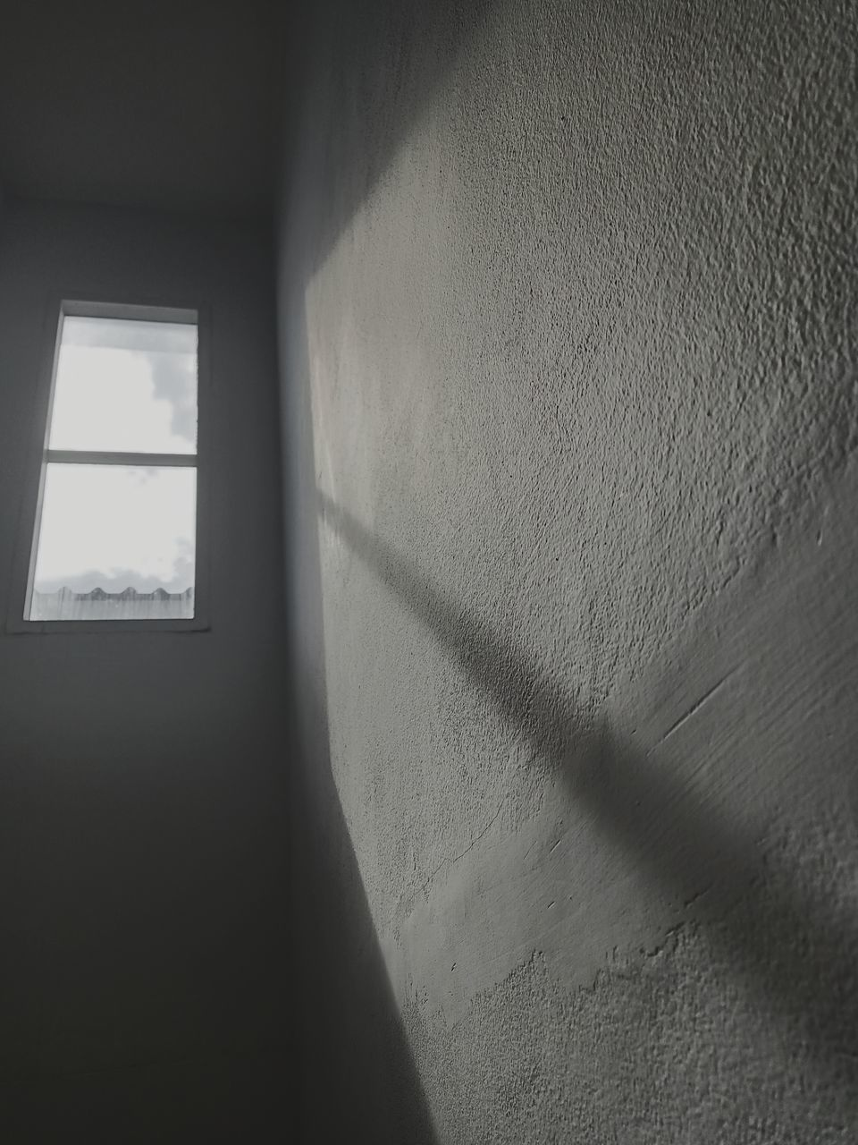 shadow, wall - building feature, sunlight, built structure, day, window, architecture, wall, nature, indoors, no people, focus on shadow, close-up, textured, building, window frame