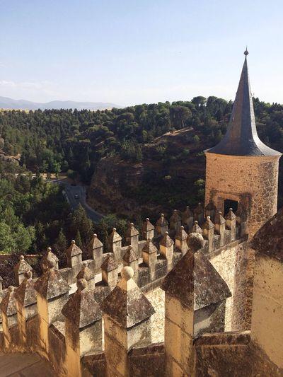 Castle Alcázar Segovia España Architecture