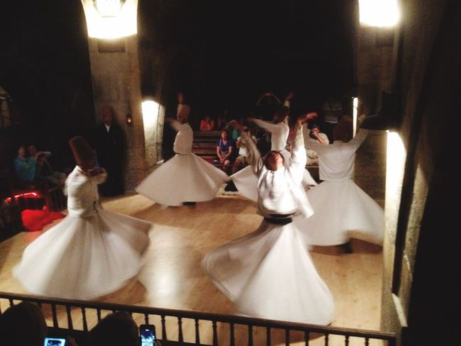 Dervishes are whirling into the sky... Cappadocia