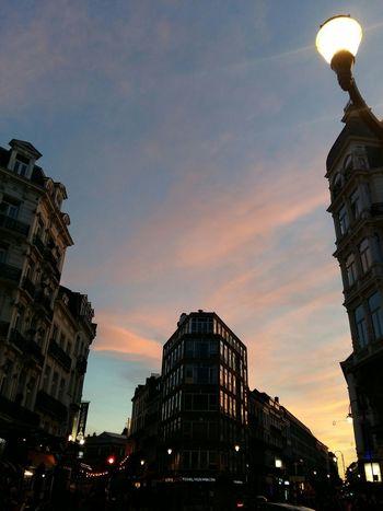 #freeday 65 City Sunset Illuminated Cityscape Sky Architecture Building Exterior Built Structure