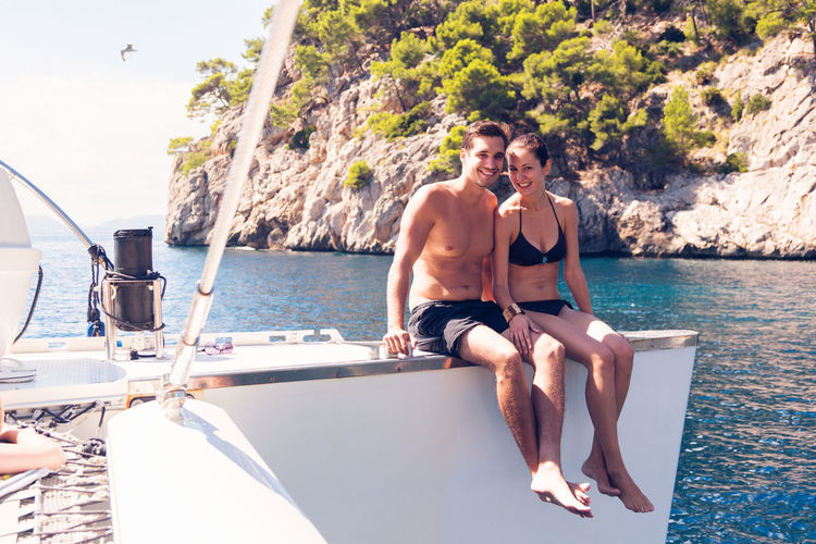 Boating Fun Happy Lifestyle Mediterranean  Mediterranean Sea Nature Summer Vacation Vacations Beautiful Woman Boat Face Lifestyles Men Ocean Outdoors Sailing Sea Summer Women Yacht Yachting Young Men Young Women