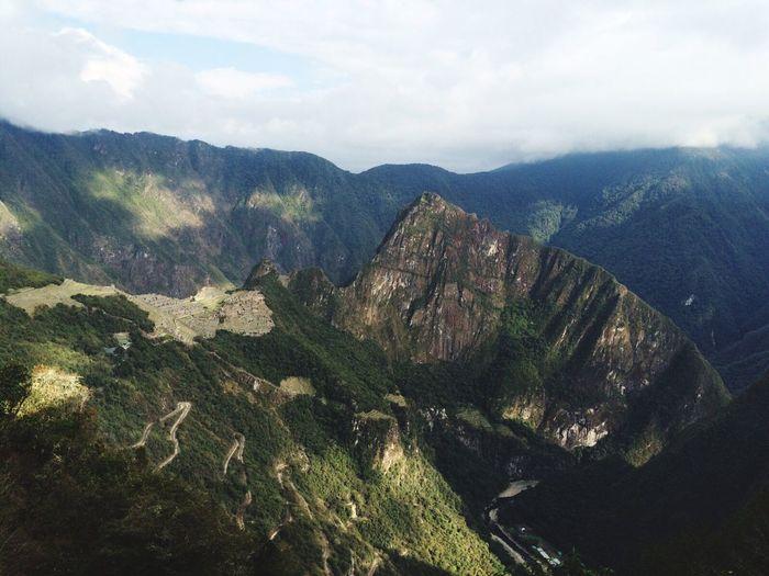 Matcha Pitchu Peru Lost In The Landscape