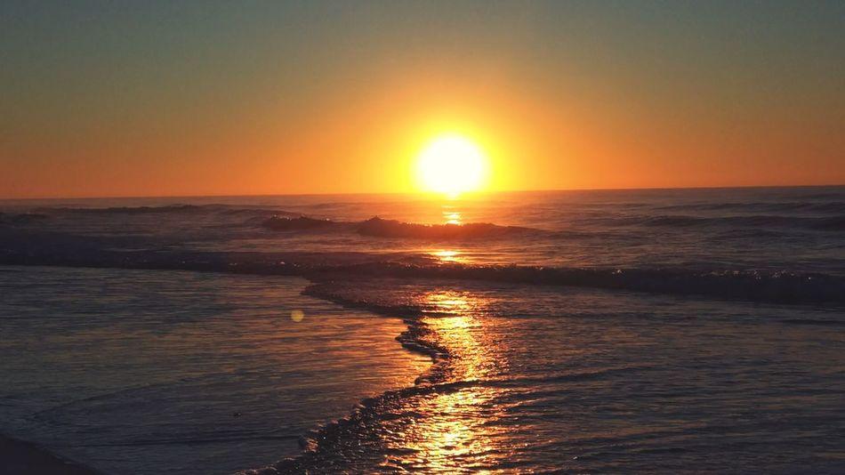 Sunrise On The Beach Sunrise Beauty In Nature Sea Beach On The Beach Waves, Ocean, Nature