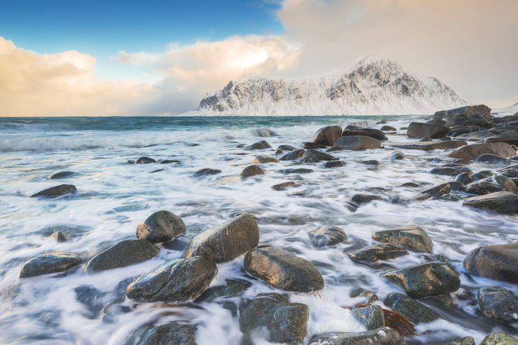 Skagsanden beach EyeEm EyeEm Best Edits EyeEm Best Shots EyeEm Nature Lover EyeEm Selects EyeEm Gallery EyeEmBestPics EyeEmNewHere Landscape_Collection Nature Nikon Norway Seashore Travel Traveling Winter Cold Temperature Landscape Landscape_photography Lofoten Mountain Rocks Sea Snow Travel Destinations The Great Outdoors - 2018 EyeEm Awards