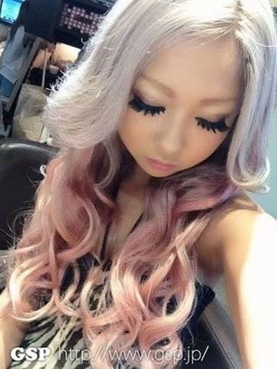 Gyaru Gals Beautiful Woman Japanese Style Fashion Hair Fashionista Tokyo,Japan