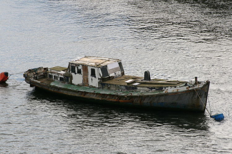 Boat Day Mode Of Transport Nature Nautical Vessel Newcastle No People Outdoors Rotten Rotten Boat Sea Transportation Water The Secret Spaces