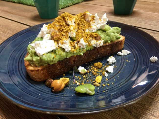 Avo on Toast Plate Table Food Bread Freshness Healthy Eating Ready-to-eat Breakfast Toasted Bread Snack Close-up Avocado Avo Toast🍞 Sourdough Broad Beans Food And Drink Feta Cheese Dukkah Delicious Yummy Fresh Food Brunch Lunch