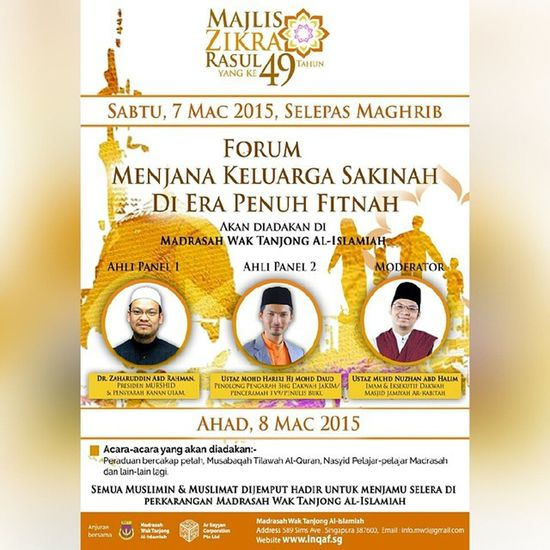 This weekend.. 7 & 8 March at Madrasah WAk Tanjong Al-Islamiah (MWTI) Gojer Mustgo Letsgo Veryveryvery