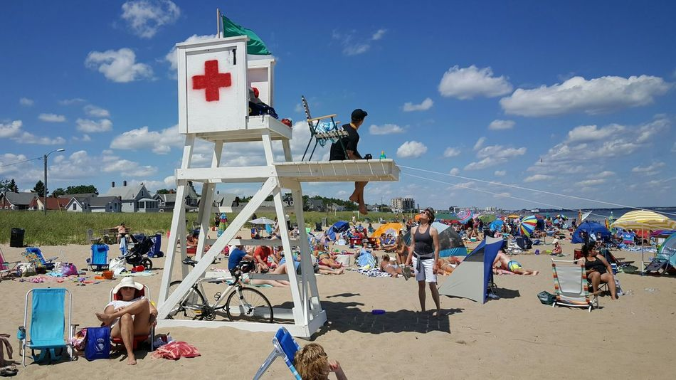 Lifeguard On Duty Lifeguard Station Beach Day Beach Photography Maine Photography ☉ Maine Maine Scenery Opme⛱ Sea And Sand Old Orchard Beach, ME EyeEm Best Shots Maine Photography 🌲 Live For The Story