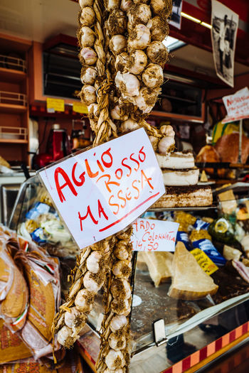 Camaiore Tuscany Abundance Choice Close-up Communication Day Food Food And Drink For Sale Freshness Hanging Healthy Eating Italy Large Group Of Objects Market Market Stall No People Outdoors Placard Price Tag Retail  Small Business Text Variation