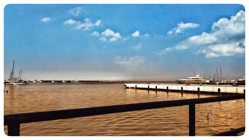 Shore Beach Pier Cloud Blue EyeEm Selects