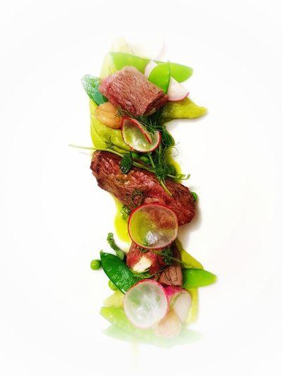 Food Art Steak
